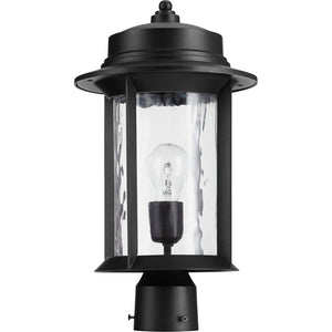 Charter 1 Light Post in Noir Finish 7248-9-69