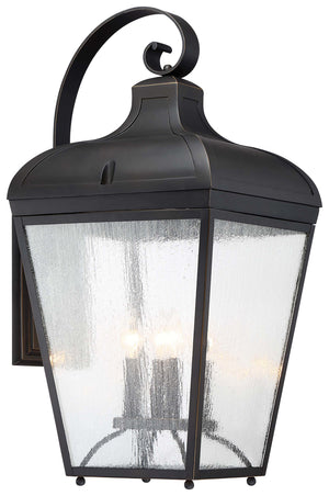 Marque 4 Light Outdoor Pendant In Oil Rubbed Bronze  Finish by Minka Lavery 72487-143C