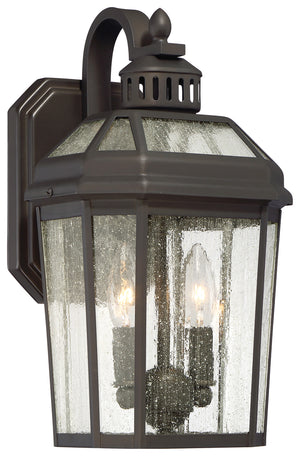 Hawks Point 2 Light Outdoor Pendant In Oil Rubbed Bronze Finish by Minka Lavery 72532-143