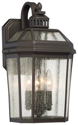 Hawks Point 4 Light Outdoor Pendant In Oil Rubbed Bronze Finish by Minka Lavery 72533-143