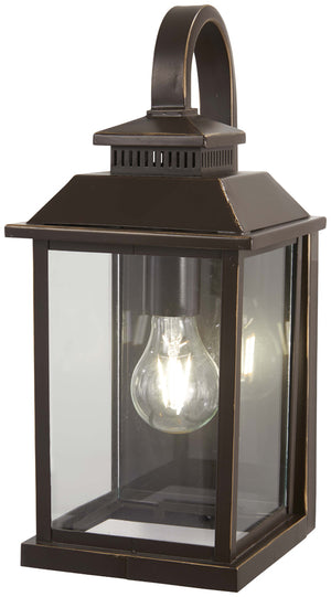 Miner'S Loft 1 Light Outdoor Pendant In Oil Rubbed Bronze  Finish by Minka Lavery 72591-143C