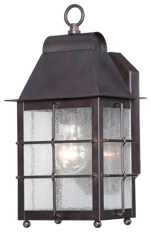Willow Pointe 1 Light Outdoor Pendant In Chelesa Bronze Finish by Minka Lavery 73091-189