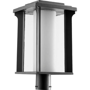 Garrett 1 Light Post in Noir Finish 7413-10-69