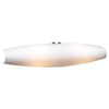 PLC Lighting 7529 OPAL Julian-II Collection 2 Light Sconce in Polished Chrome Finish