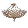 Crystorama 7584-DT_CEILING Sterling 3 Light Distressed Twilight Ceiling Mount