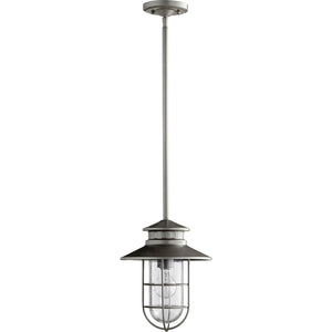 Moriarty 1 Light Outdoor in Graphite Finish 7699-3