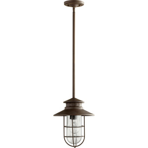 Moriarty 1 Light Outdoor in Oiled Bronze Finish 7699-86