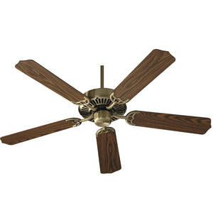 Capri I Ceiling Fan in Antique Brass Finish 77525-4