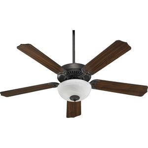 Capri III 2 Light Ceiling Fan in Toasted Sienna Finish 77525-9244