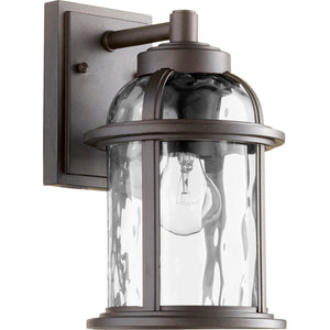 Winston 1 Light Outdoor in Oiled Bronze Finish 7760-86