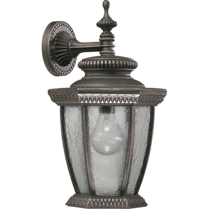Baltic 1 Light Wall Mount in Baltic Granite Finish 7803-45