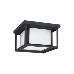 Hunnington 2 Light Outdoor Lighting in Black Finish by Sea Gull 79039EN3-12