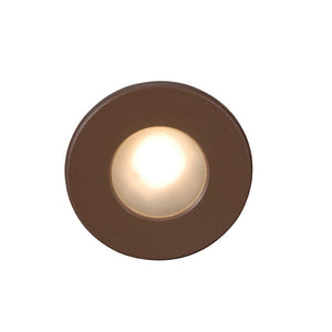 LEDme Full Round Step and Wall Light in Bronze