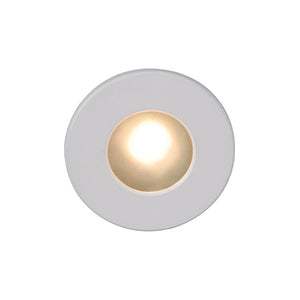 LEDme Full Round Step and Wall Light in White