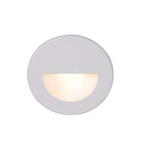 LEDme Round Step and Wall Light in White