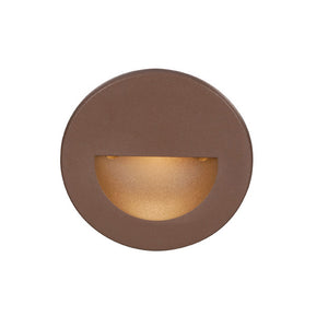 LEDme Round Step and Wall Light in Bronze