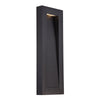 Urban 22in LED Outdoor Wall Light 3000K in Black