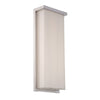 Ledge 20in LED Outdoor Wall Light 3000K in Brushed Aluminum
