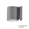 Tube Energy Star LED Wall Light in Graphite