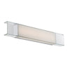 Cloud 28in LED Bathroom Vanity & Wall Light 3000K in Chrome