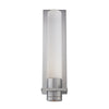 Jedi LED Outdoor Wall Sconce in Brushed Aluminum