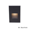 LEDme Vertical Step and Wall Light in Black