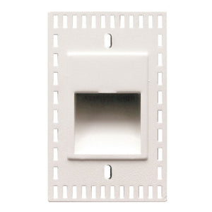 LEDme Vertical Trimless Step and Wall Light in White