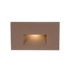 LEDme Horizontal Step and Wall Light 277V in Bronze