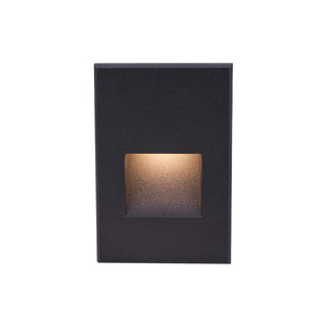 LEDme Vertical Step and Wall Light 277V in Black
