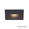 LEDme Horizontal Step and Wall Light 120V Red in Black
