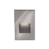 LEDme Vertical Step and Wall Light 120V Blue in Stainless Steel