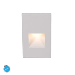 LEDme Vertical Step and Wall Light 120V Red in White