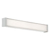 Svelte 22in LED Bathroom Vanity & Wall Light 2700K in Brushed Nickel