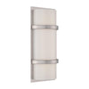 Vie 14in LED Wall Sconce 2700K in Brushed Nickel