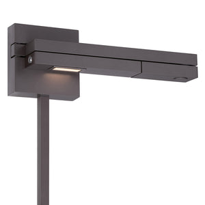 Flip LED Right Swing Arm 3000K in Bronze