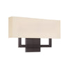 Manhattan 22in LED Wall Sconce 2700K in Brushed Bronze