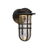 Steampunk 13in LED Outdoor Wall Light 3000K in Bronze