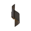 Helix 17in LED Outdoor Wall Light 3000K in Bronze