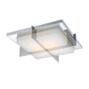 Razor 16in LED Flush Mount 3000K in Stainless Steel