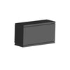 Rubix Energy Star LED Rectangular Wall Light in Black