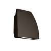 Endurance Fin LED Outdoor Wall Light 19W Cool White in Architectural Bronze