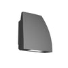 Endurance Fin LED Outdoor Wall Light 27W Warm White in Architectural Graphite