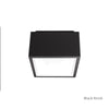 Bloc LED Outdoor Flush Mount 3000K in Black