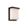 Ledge 8in LED Outdoor Wall Light 3000K in Bronze