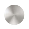 Circle 10in LED Outdoor Wall Light 3000K in Brushed Aluminum