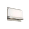 Lumnos LED Wall Sconce 3000K in Satin Nickel