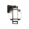Lucid 12in LED Outdoor Wall Light 3000K in Black