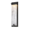 Spa 22in LED Outdoor Wall Light 3000K in Bronze