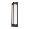 Oberon 20in LED Outdoor Wall Light 3000K in Black