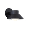 Oslo 8in LED Outdoor Wall Light 3000K in Black